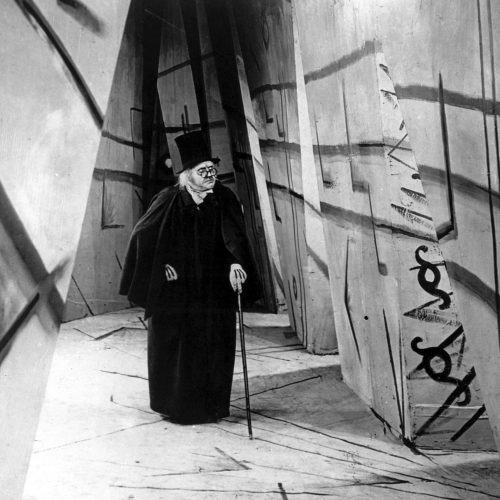 Werner Krauss as Dr. Caligari in Robert Wiene's THE CABINET OF DR. CALIGARI (1920). Courtesy Film Forum via Photofest. Playing Oct 31-Nov 6