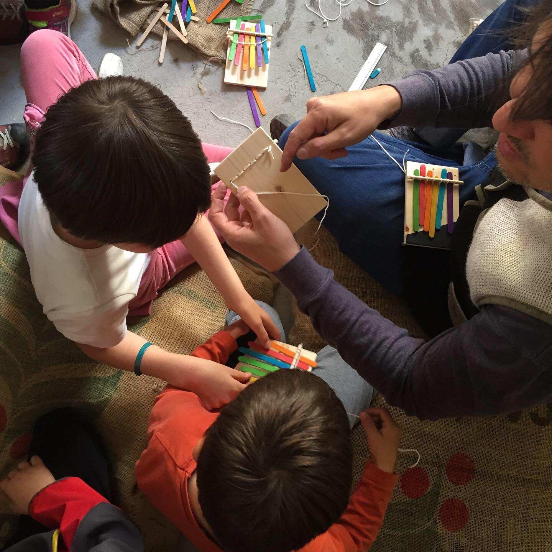 Little Fun Palace: Come costruire e suonare una mbira